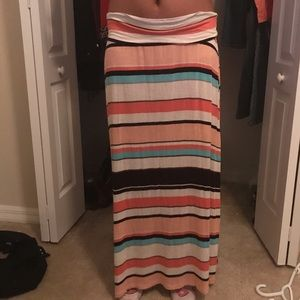 🌺Stripe maxi skirt🌺